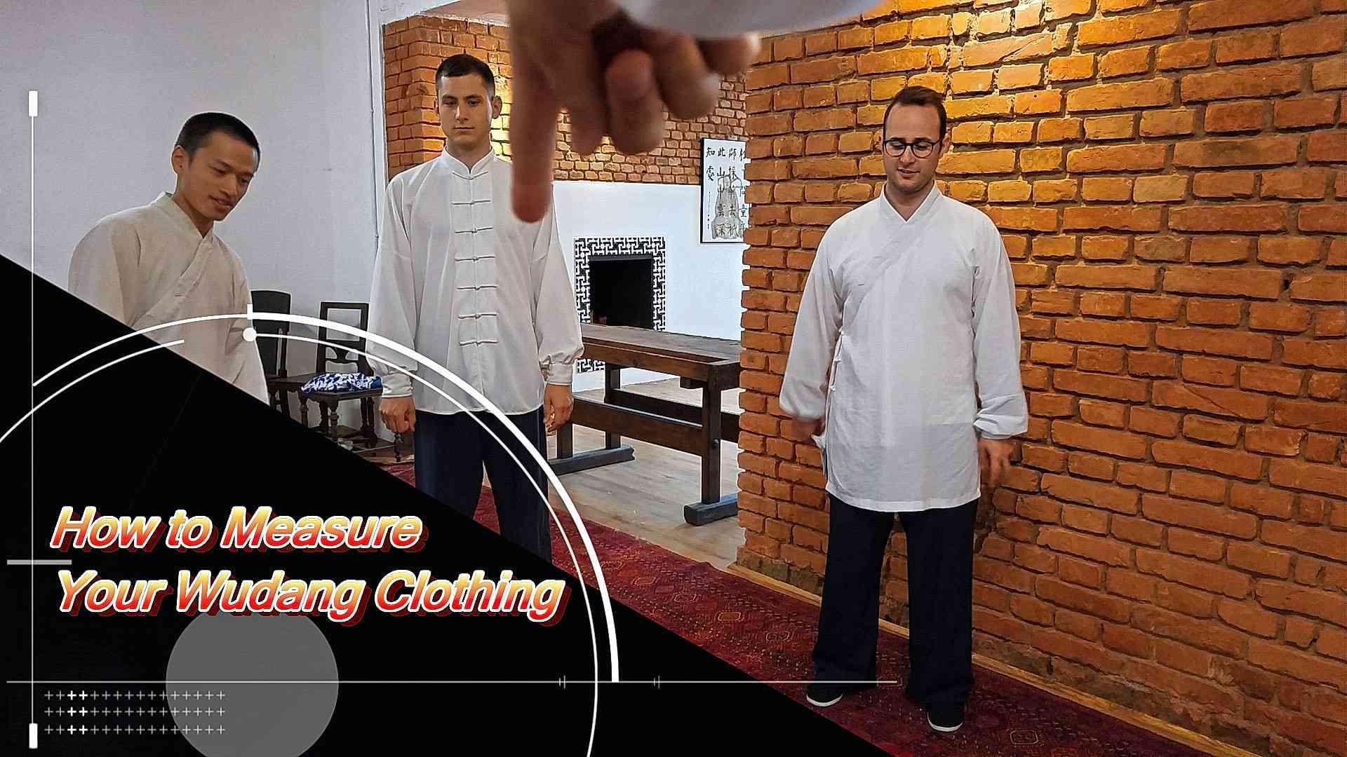 How to Measure Your Wudang School Uniform