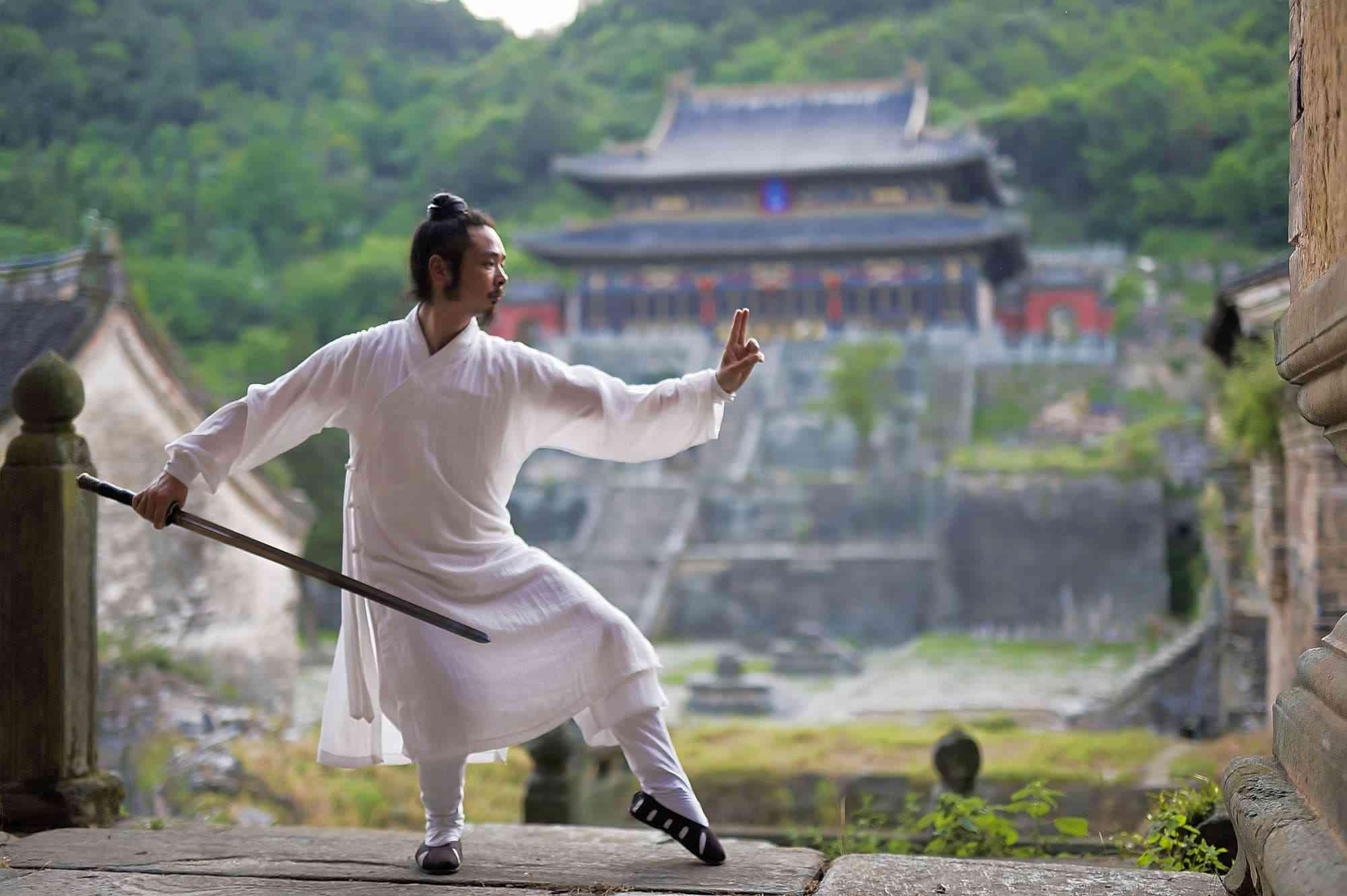 The Swordsmanship of Wudang Style