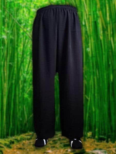 Black Wudang Pants
