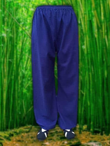Blue Wudang Pants