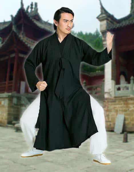 Daoist Overcoat Black