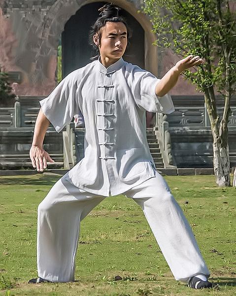 Summer Taiji Uniform Off-White