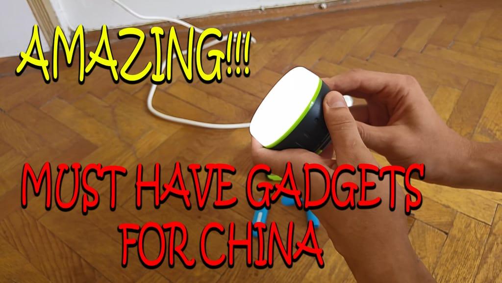 TOP 3 Amazing Gadgets for China Travel! You won't need much else! ( ͡° ͜ʖ ͡°)