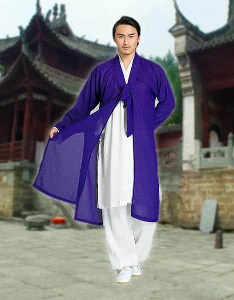 Daoist Overcoat Blue