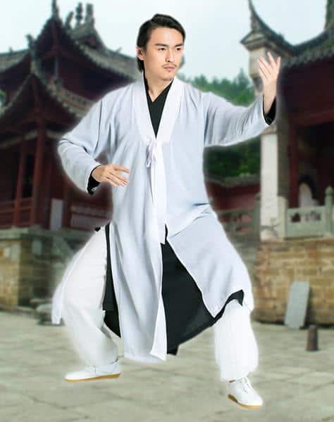Daoist Overcoat White