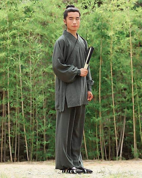 Daoist Uniform Petrol with Cuffs