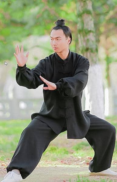 Taiji Uniform Black with Cuffs