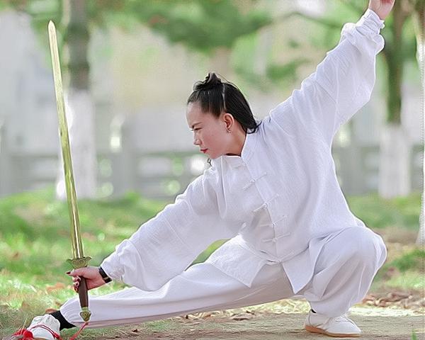Taiji Uniform White with Cuffs