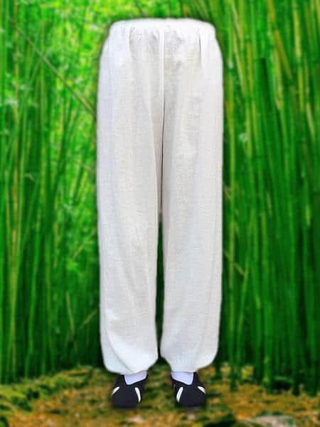 White Wudang Pants