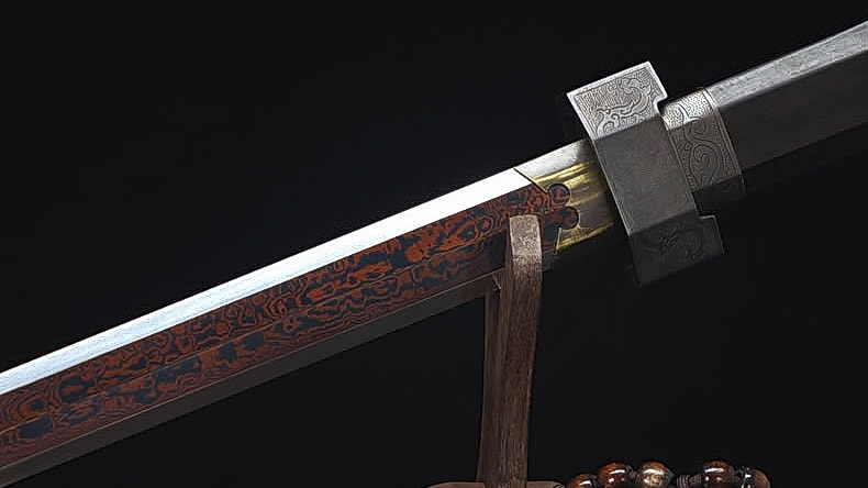 Spiritual Harmony Pattern Steel Han Dynasty Jian