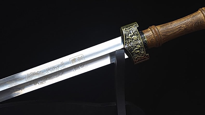 Traditional Stainless Steel Qin Jian