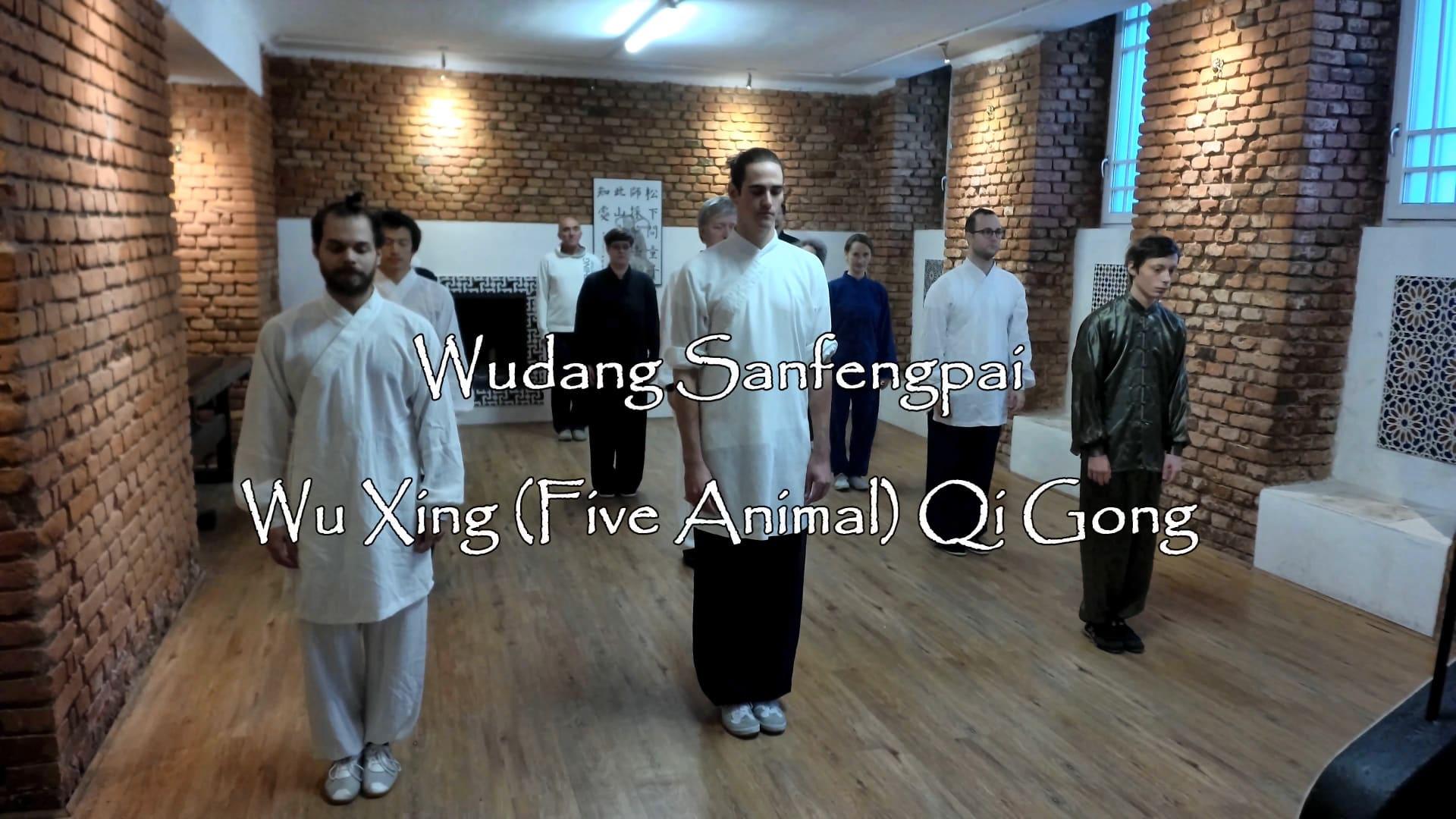Wu Xing (Five Animal) Qi Gong Class – 21.10.2017