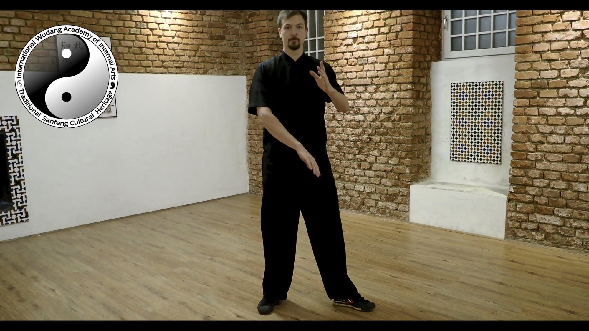 Taiji Cloud Hands – Feet Movements 2