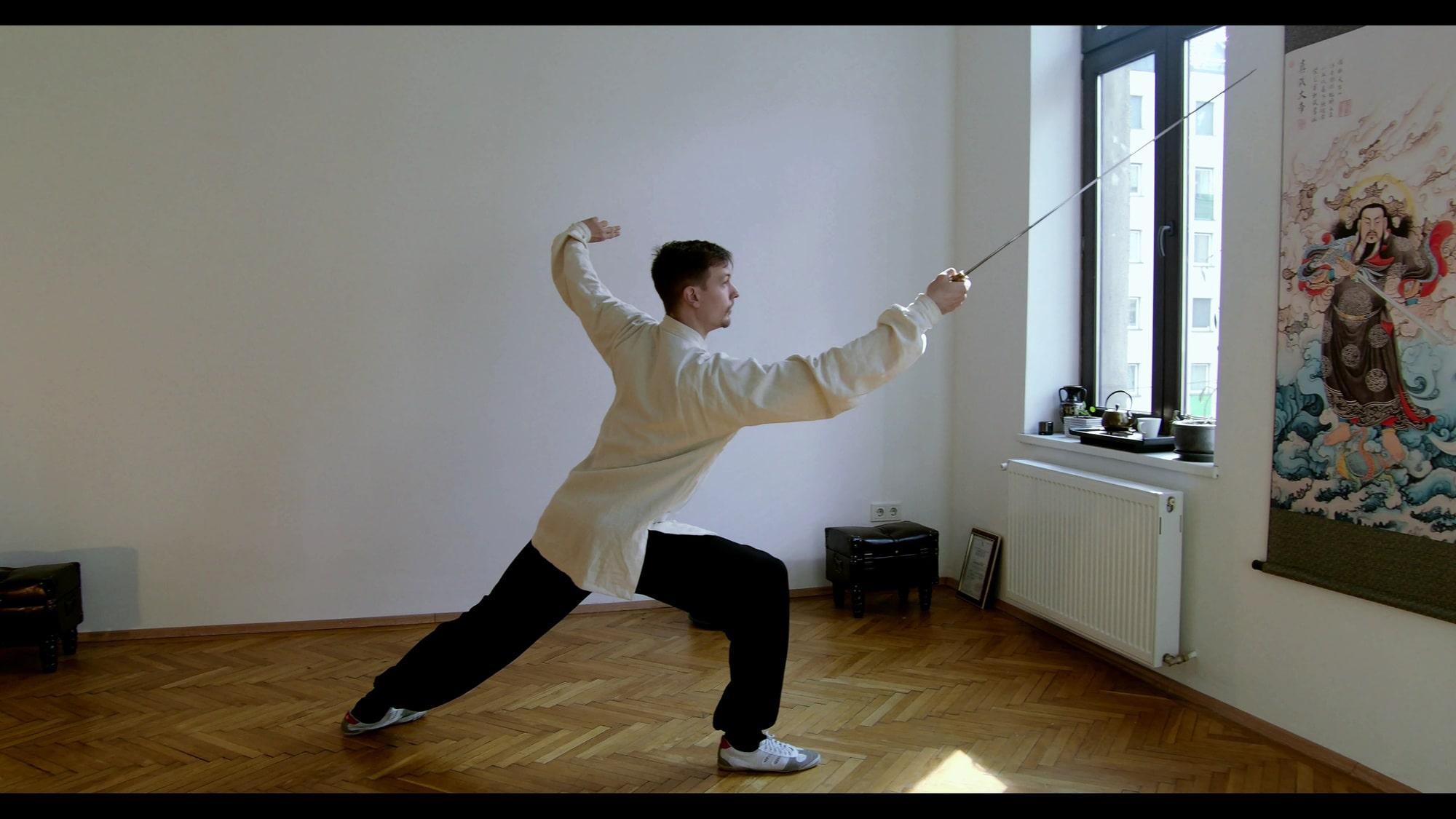 San Feng Tai Ji Jian (Tai Chi Sword) Episode 2