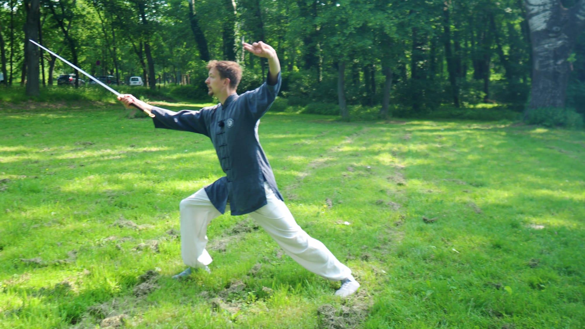 San Feng Tai Ji Jian (Tai Chi Sword) Episode 7