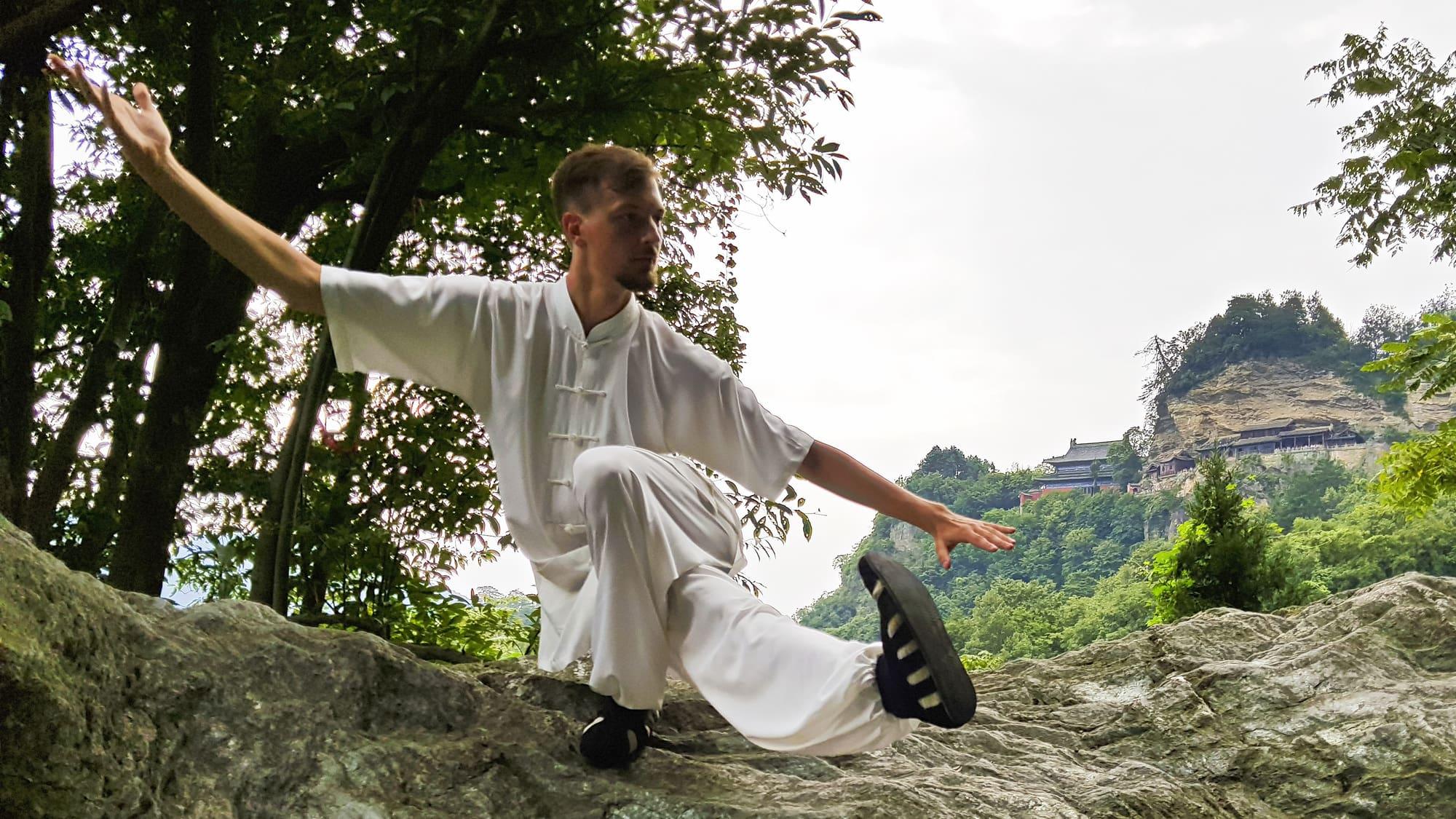 Master Ziji in Frankfurt (Germany) at Shaolin Wahnam