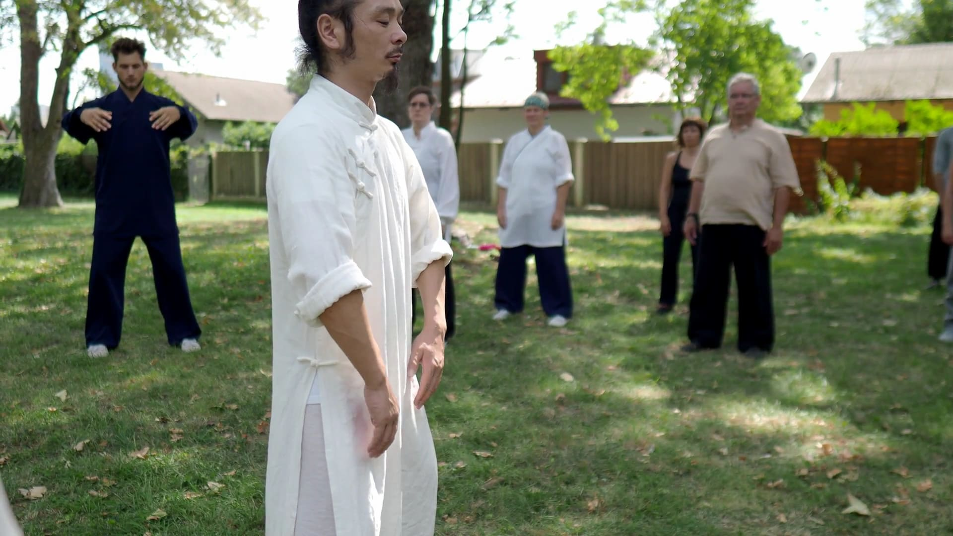 Learning the Beginning of Tai He Quan