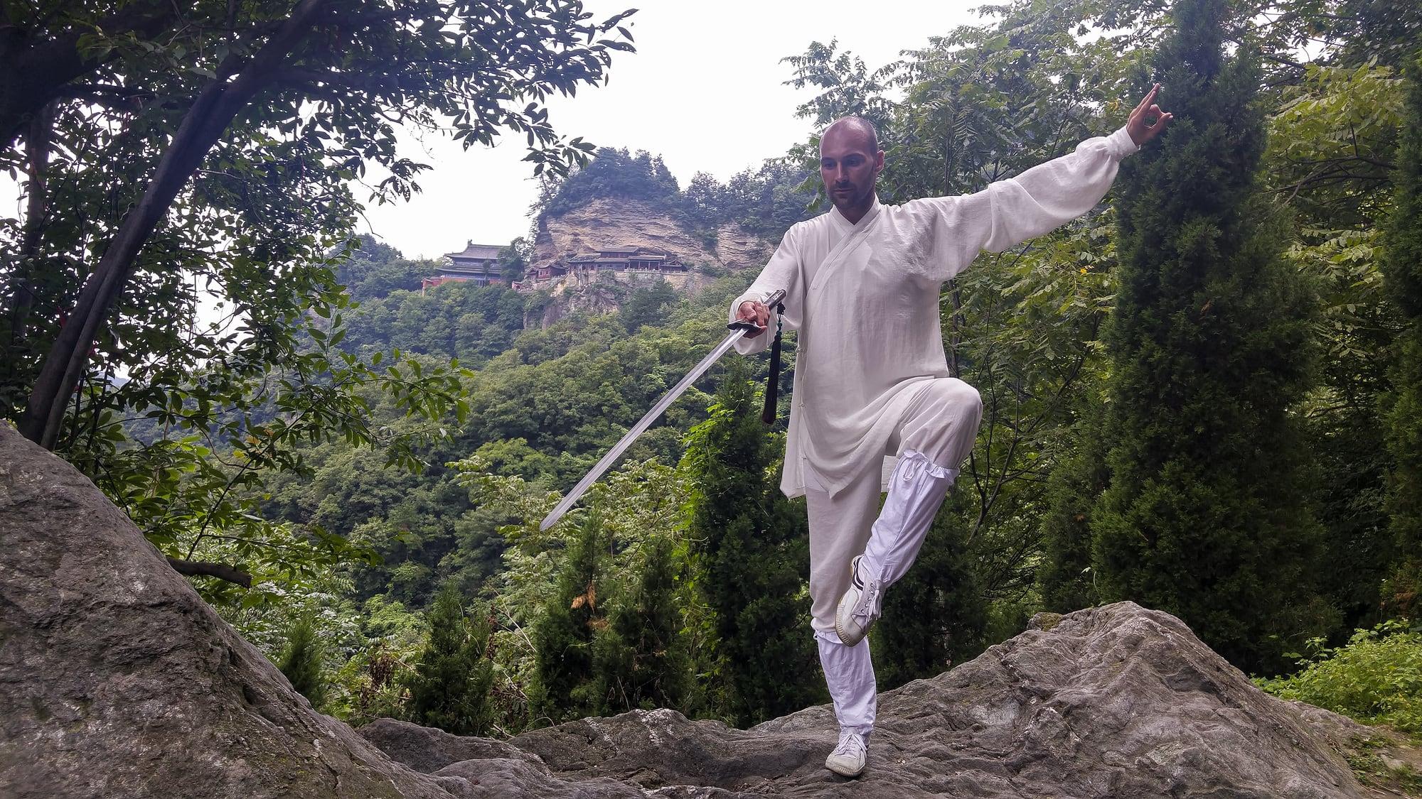 How to Practice Tai Chi Sword Combat