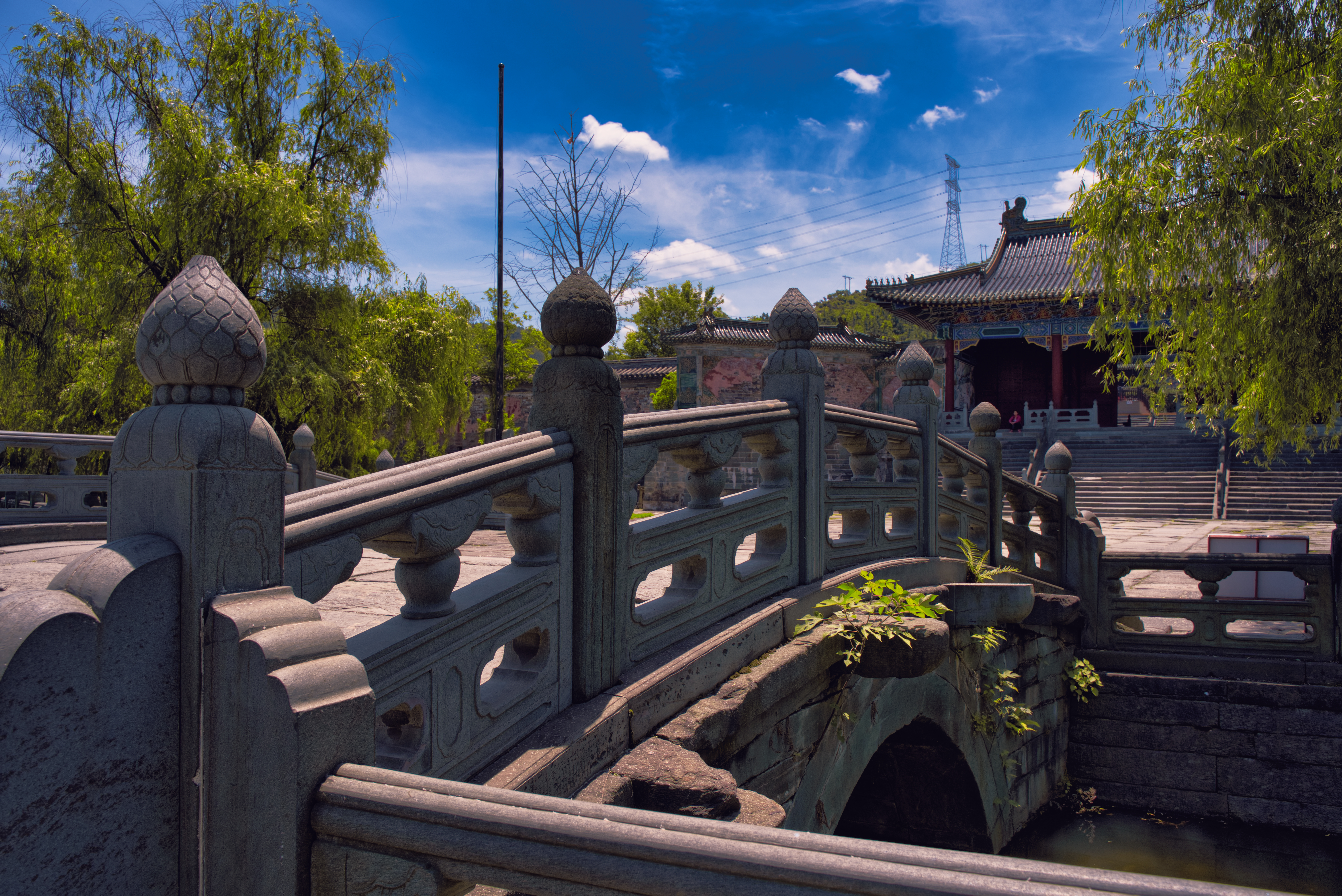 Visiting the Wudang Mountains in 2019
