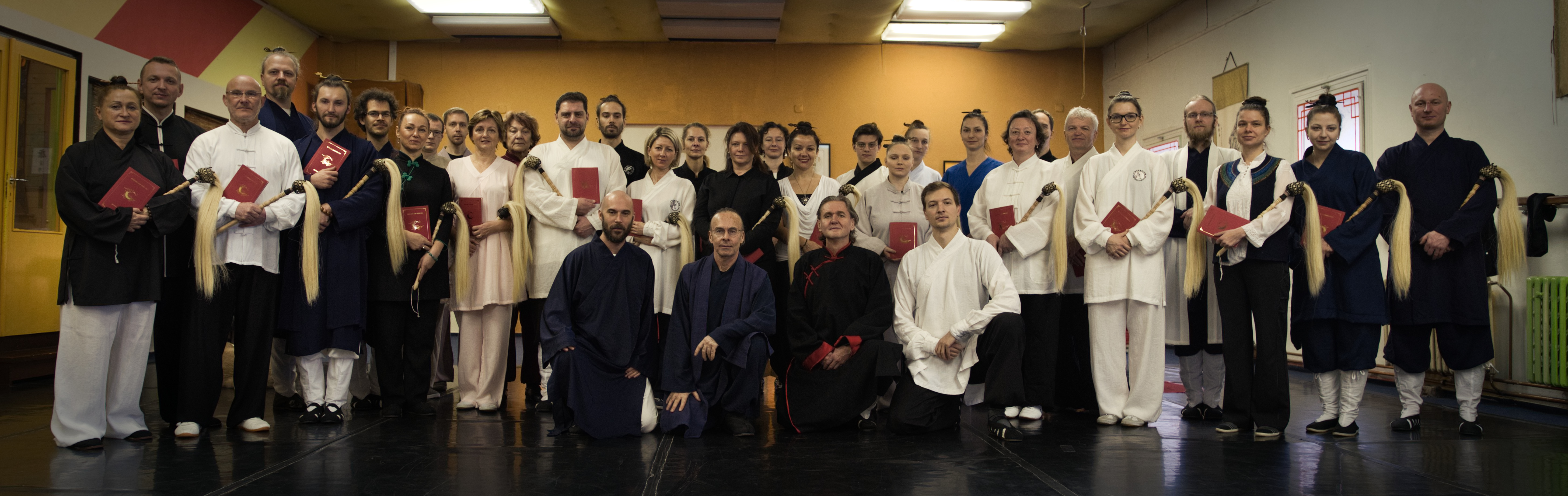 Welcoming the first 17th Gen. Disciples of Wudang from  Czech Republic