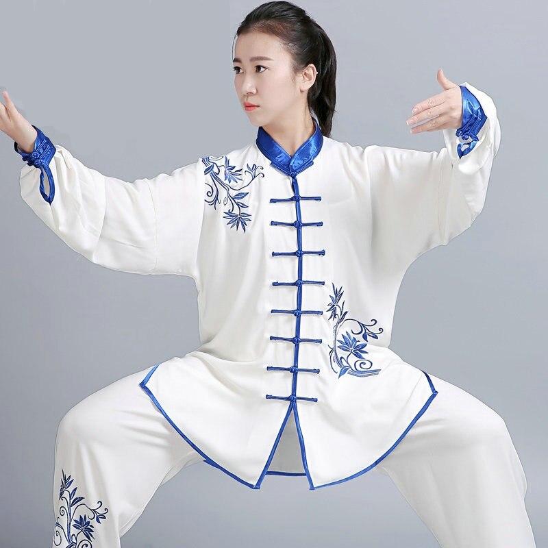 Female Uniform Tai Ji Martial Arts Uniform 3
