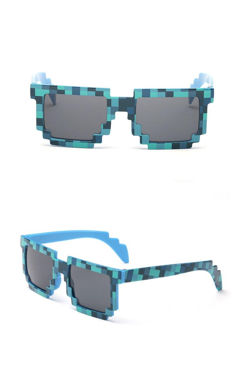 Around The World Vintage Mosaic Sunglasses Unisex 3