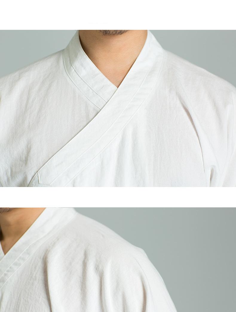 Chinese Wudang Daoist Uniform Top+Pants 8