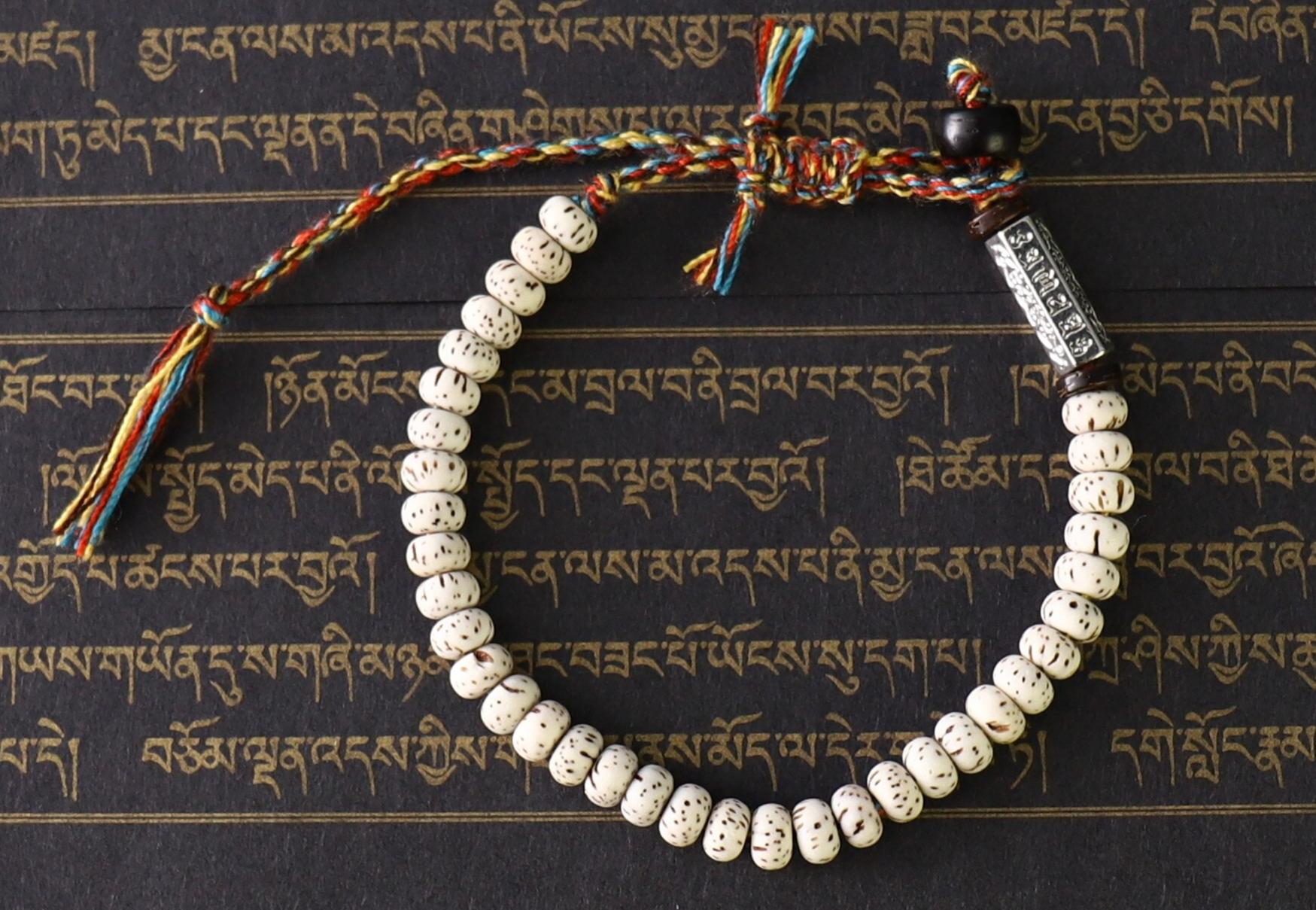 Handmade Tibetan Braided Cotton Thread Lucky KnotsBbracelet Men 5