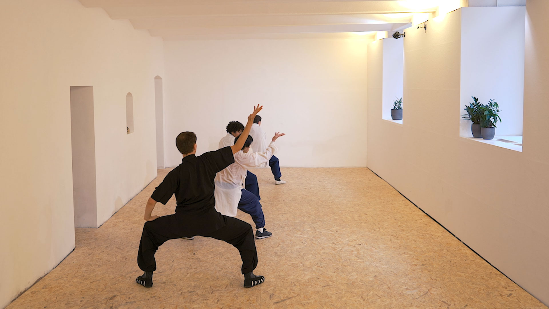 Wudang Fu Hu Quan: Fifth (final) Sequence – Reverse the Posture & Open the Door