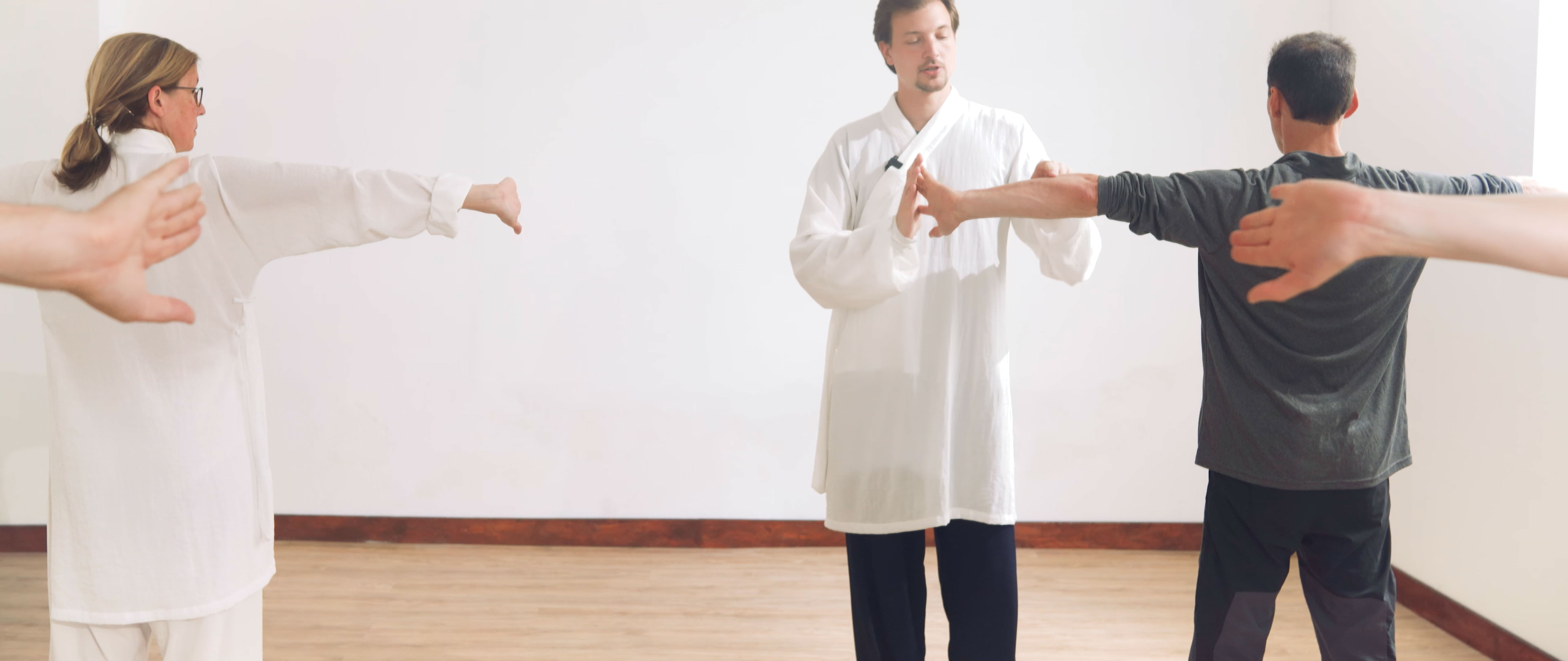 The Opening Qi Gong Sequence of our San feng Lineage