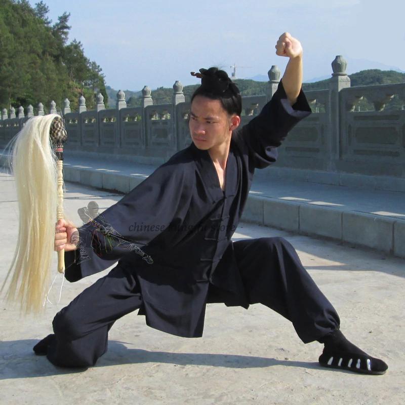 V-Neck Daoist Wudang Uniform