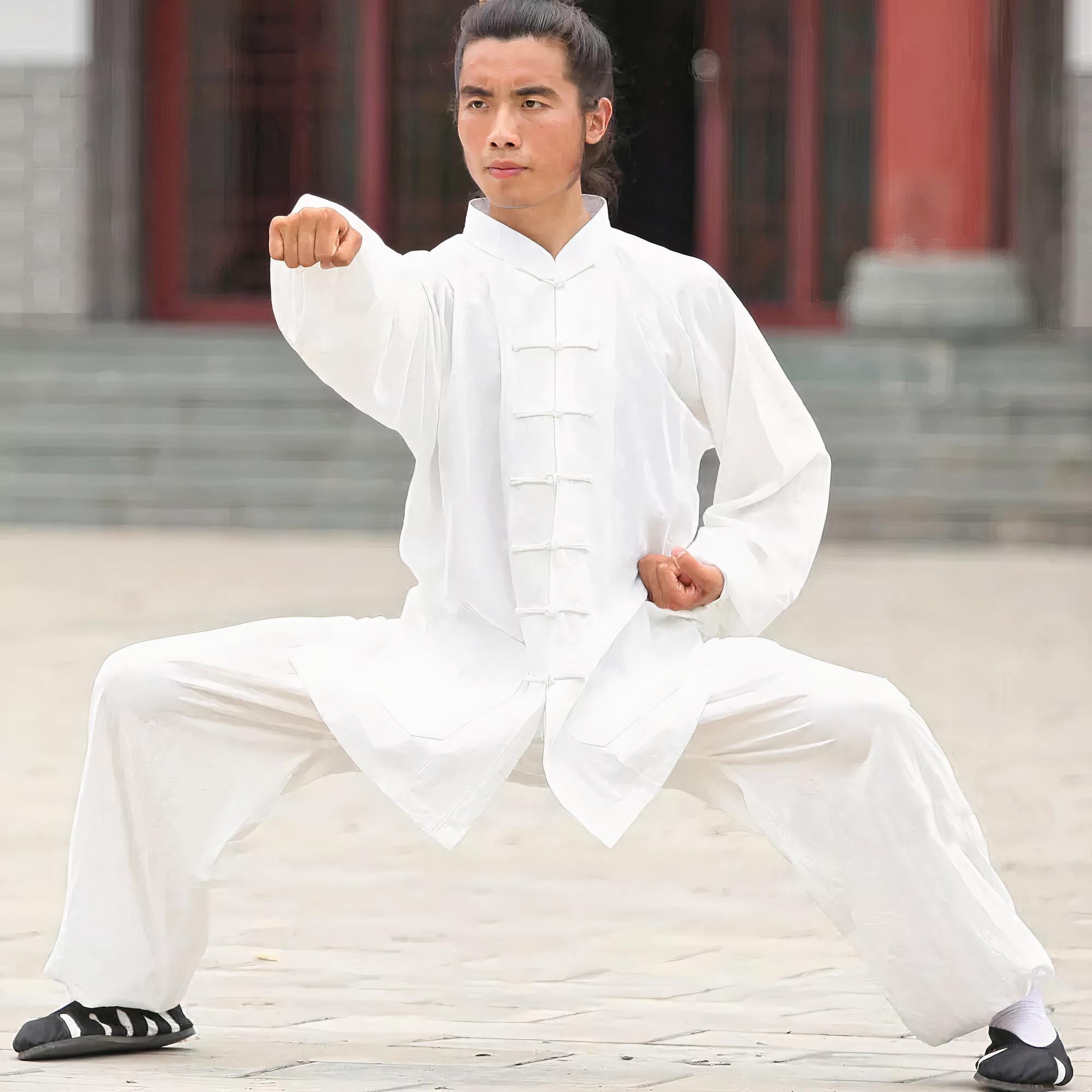 Traditional Wudang Uniform White
