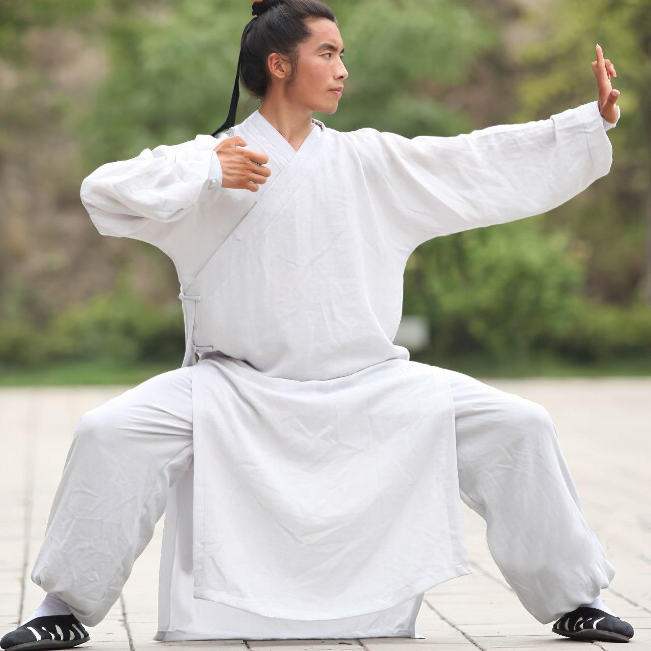Traditional Daoist Wudang Uniform White