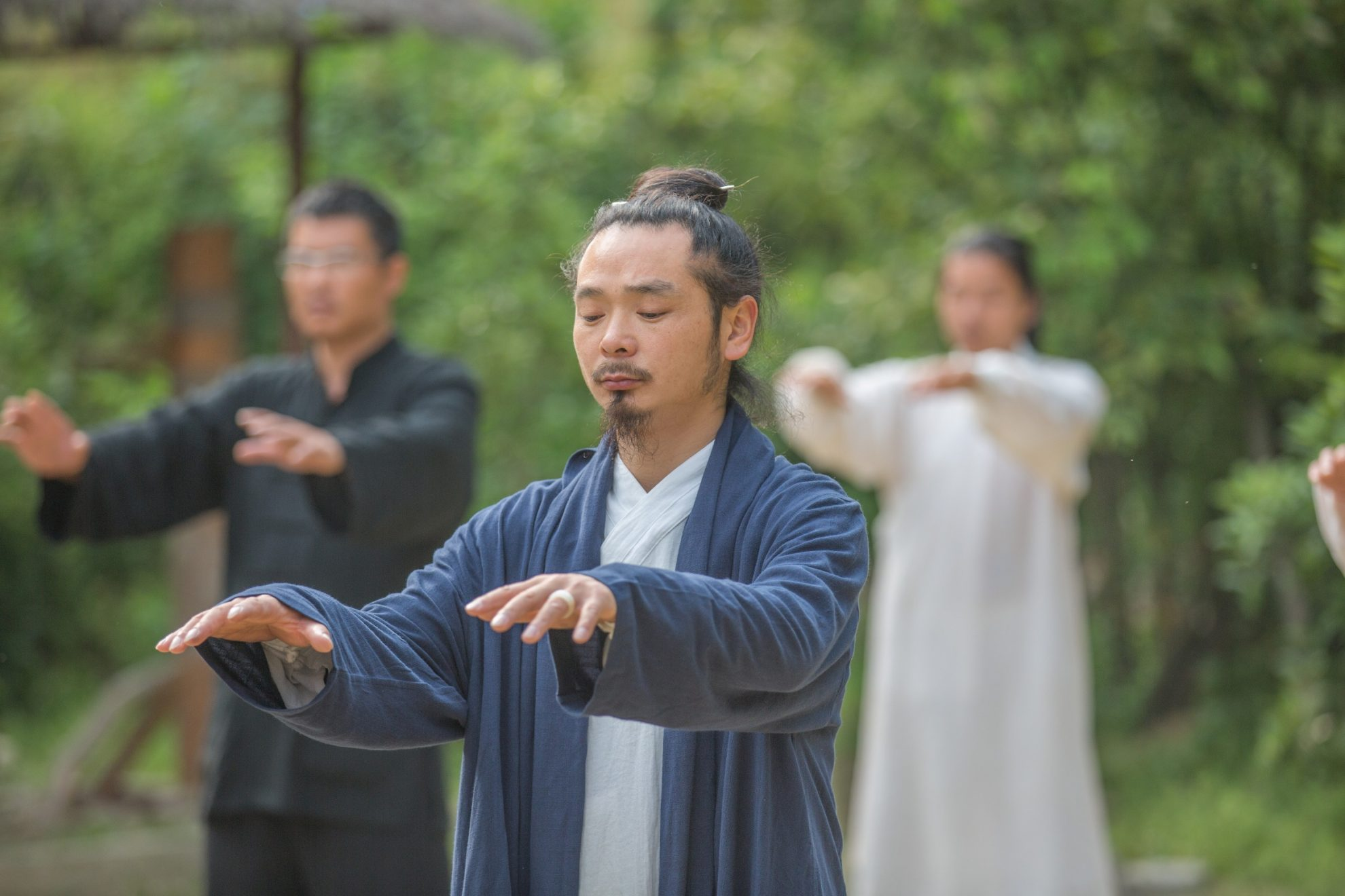 The Effective Qi Gong Routines of Wudang Sanfengpai