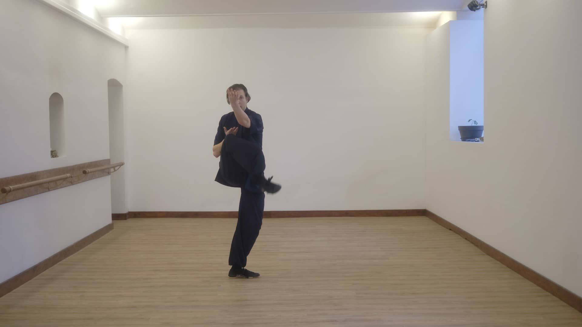 Beginner Basics – Xuan Gong Quan – Falling Back – Part 6