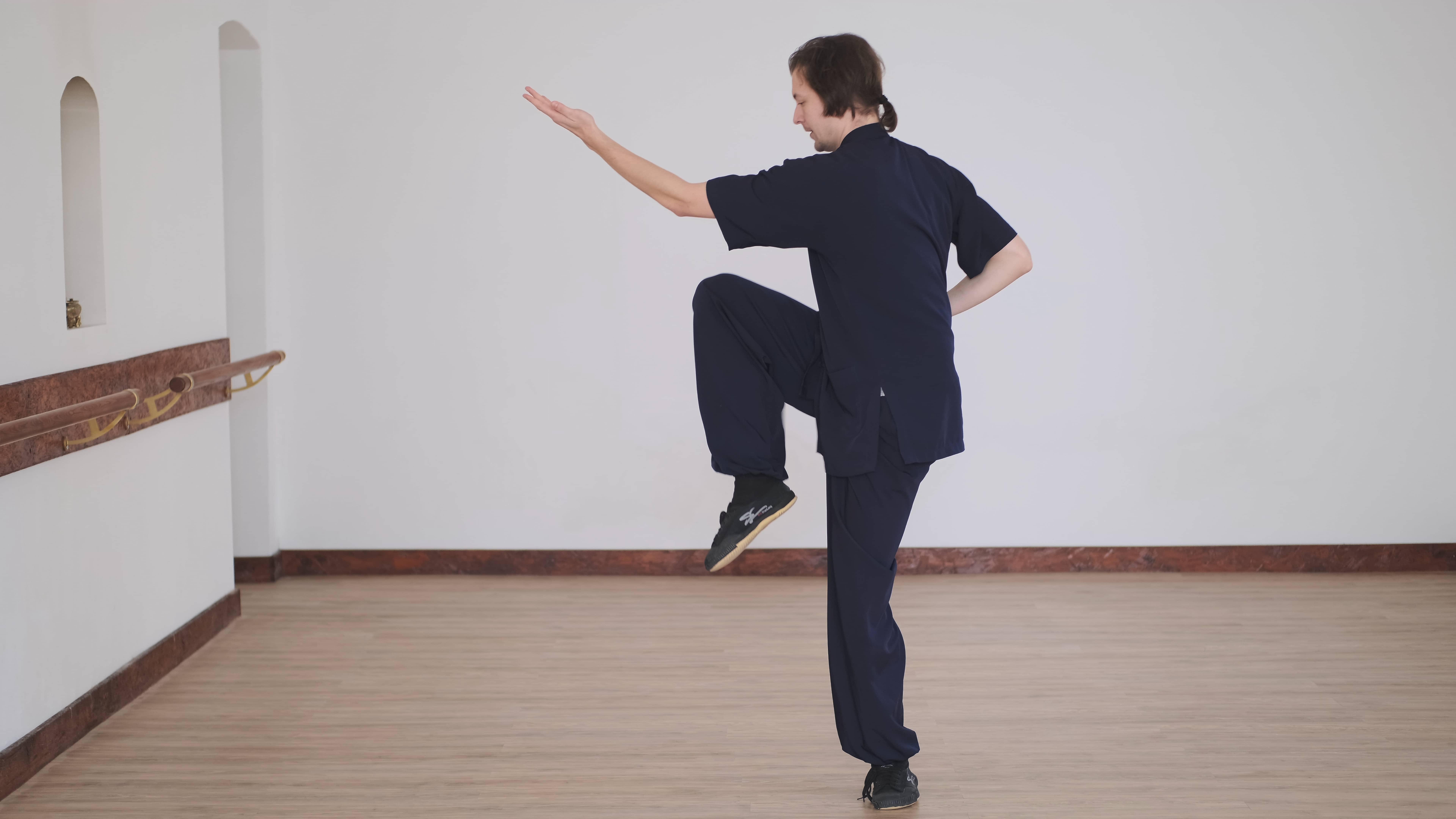 Beginner Basics – Xuan Gong Quan – Jumping Kicks – Part 7