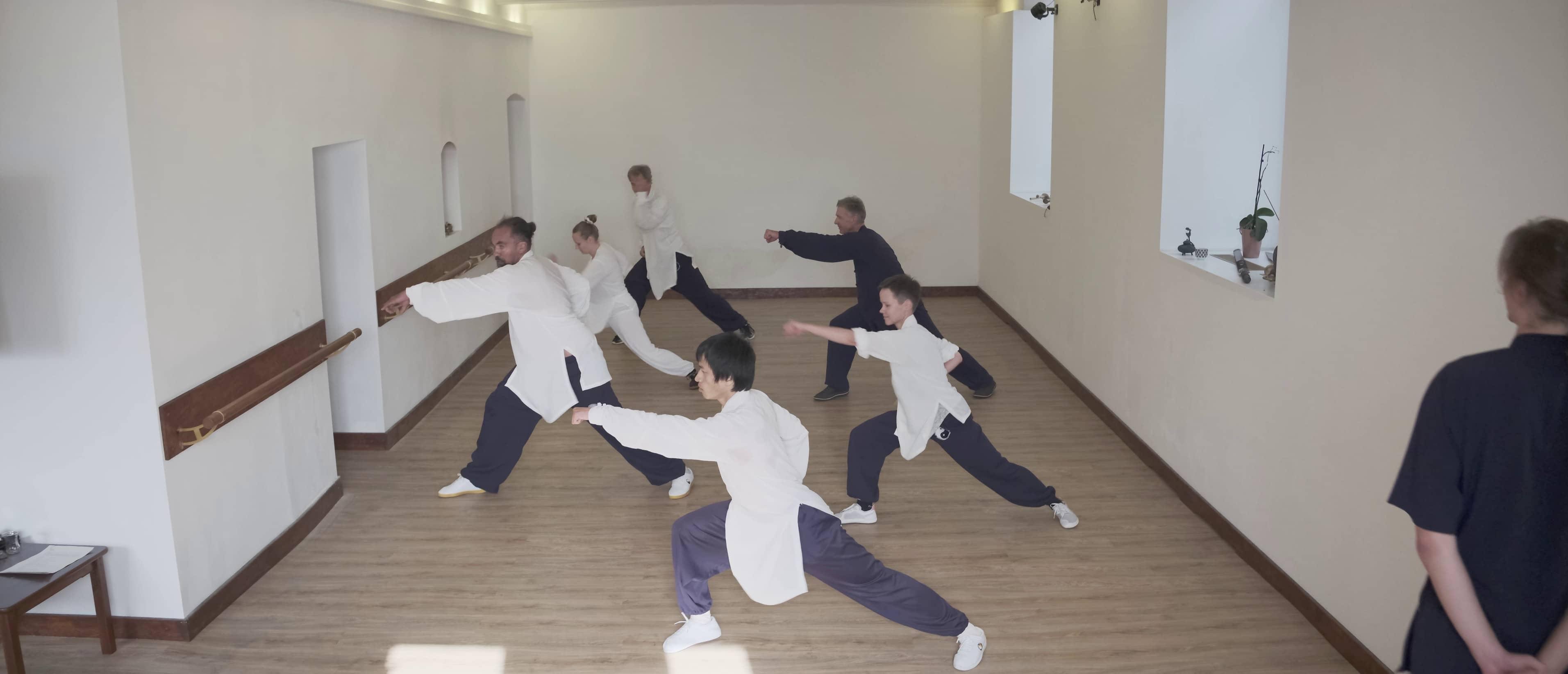 Jibenquan Basic Group Training