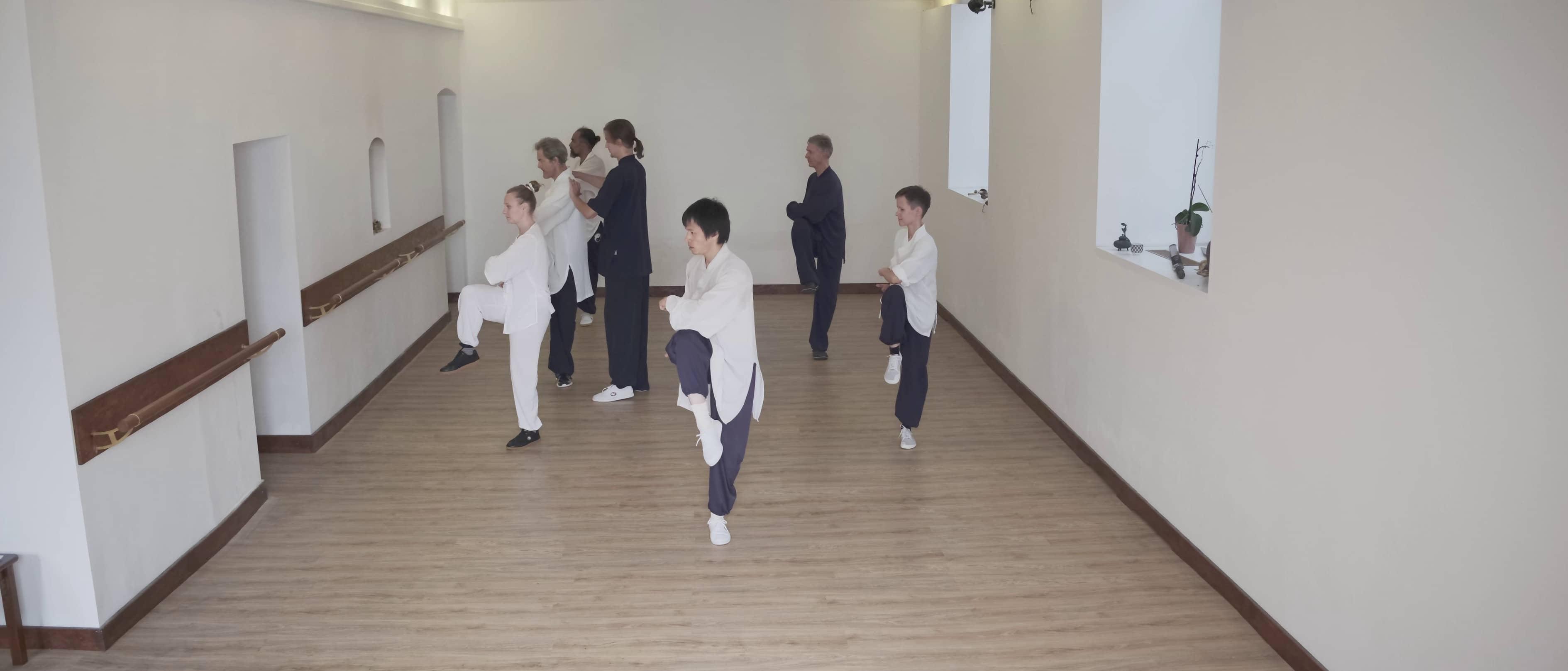One Legged Stance (Du Li Bu) for Jibenquan